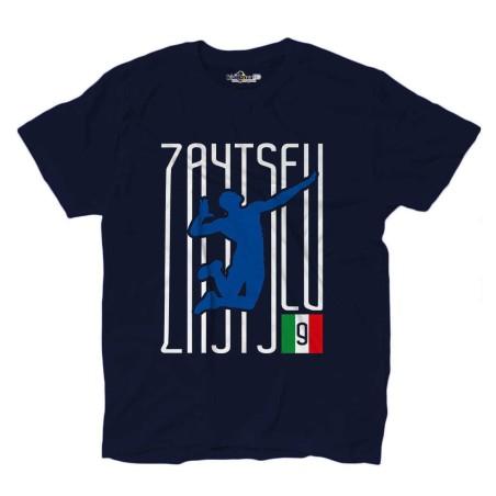T-Shirt Volley Ivan Lo Zar Zaytsev Italy Volleyball