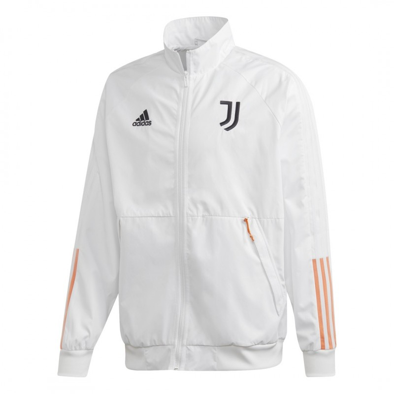 Adidas Juventus Anthem Jacke weiß 2020/21 -100% Original - 100% offizielles Produkt