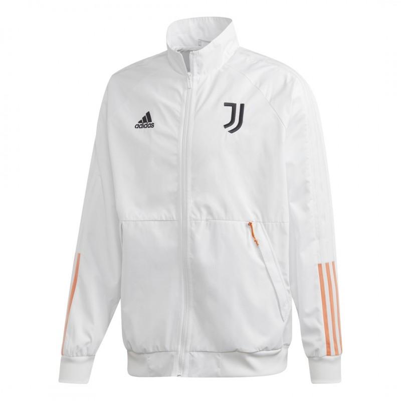 Adidas Juventus Anthem jacket white 2020/21 -100% Original - 100% Official Product