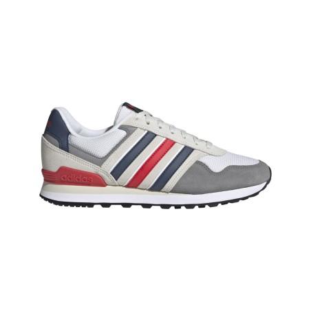Adidas scarpe 10K grigio blu rosso Sneakers