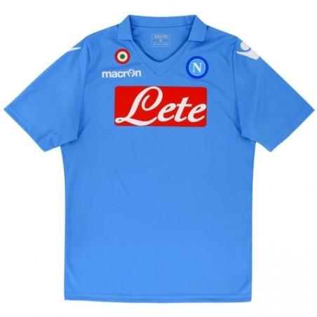 SSC Napoli réplica jersey casa 2014/15 Macron