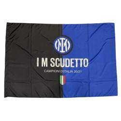 Inter bandiera 100x140cm Scudetto ufficiale