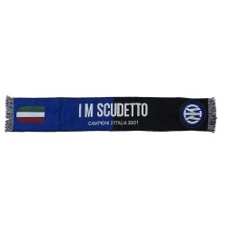 Inter scarf IM Scudetto VIP 2020/21 Official Champions of Italy