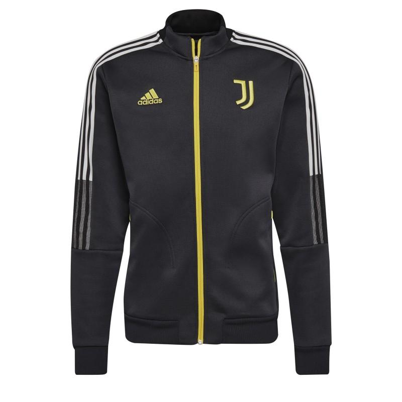 Juventus sweatshirt Anthem jacket carbon 2021/22 Adidas