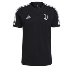 Juventus t-shirt 3 stripe black 2021/22 Adidas