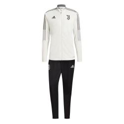 Adidas Juventus Weißer Trainingsanzug 2021/22