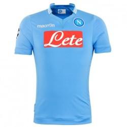 SSC Napoli maglia home Champions League 2013/14 Macron