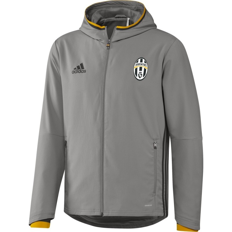 Juventus jacke vertretung grau 2016/17 Adidas