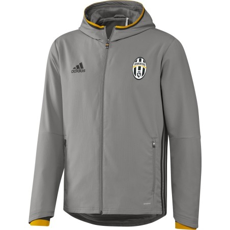 Juventus giacca rappresentanza grigia 2016/17 Adidas