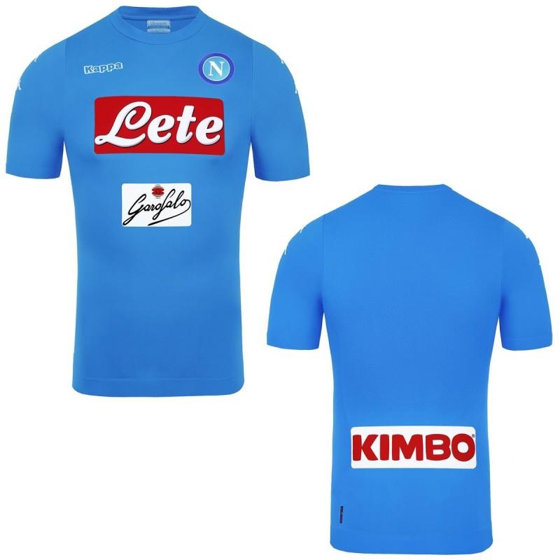 Nápoles Kombat Pieles casa camiseta Kappa 2016/17