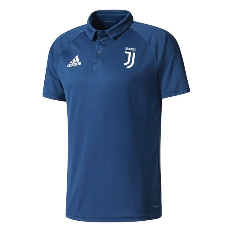 La Juventus de polo de representación de color azul noche 2017/18 Adidas