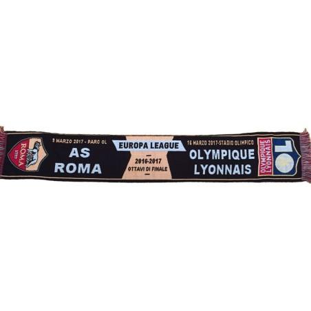 L'as Roma vs Olympique Lyon écharpe pour correspondre UEL l'Europe League