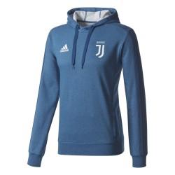 Juventus turin training sweatshirt mit kapuze blau 2017/18 Adidas