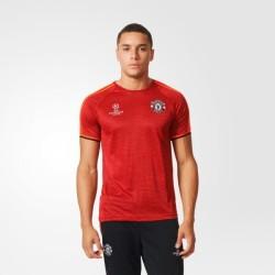 Manchester United maillot de formation de l'UCL 2015/16 Adidas