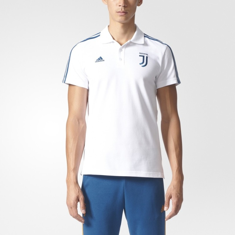La Juventus polo 3S blanc 2017/18 Adidas