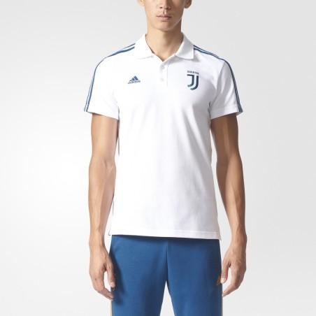 Juventus polo 3S bianca 2017/18 Adidas