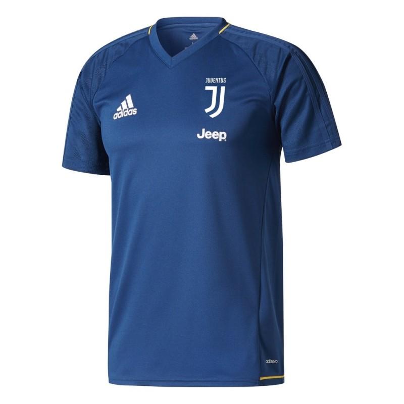 Juventus FC maillot d'entraînement bleu 2017/18 Adidas