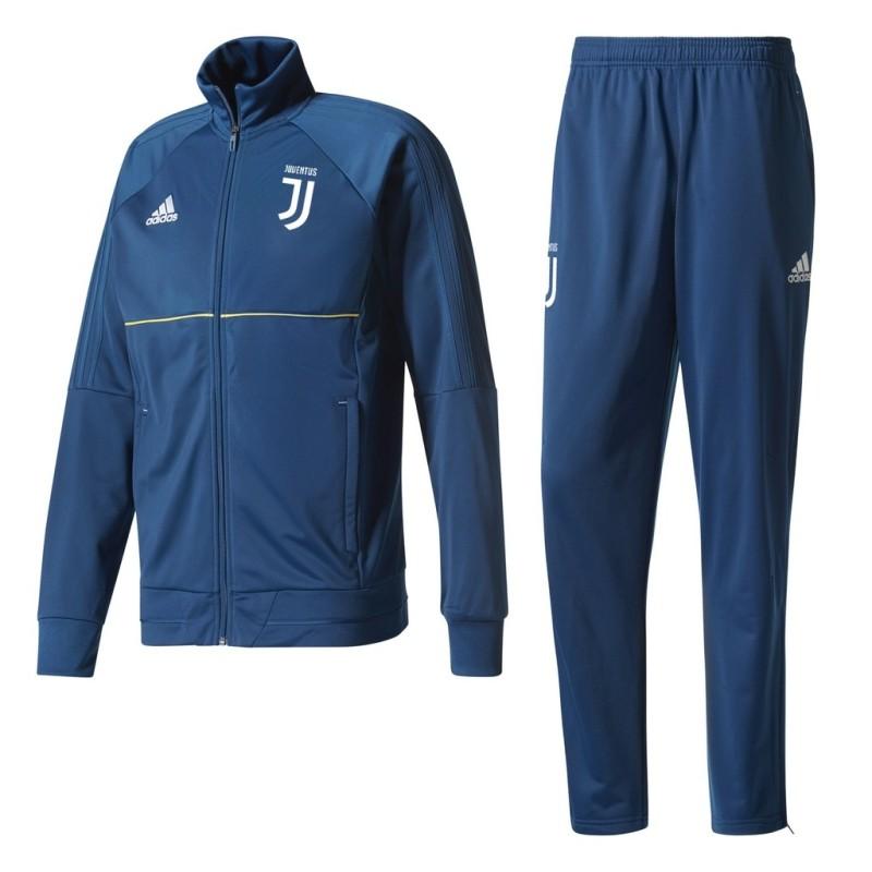 La Juventus de survêtement banc bleu 2017/18 Adidas