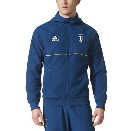 Juventus jacket representing blue 2017/18 Adidas