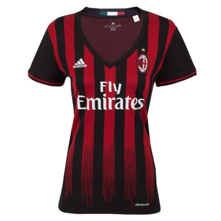 El AC Milan camiseta casa, mujer 2016/17 Adidas