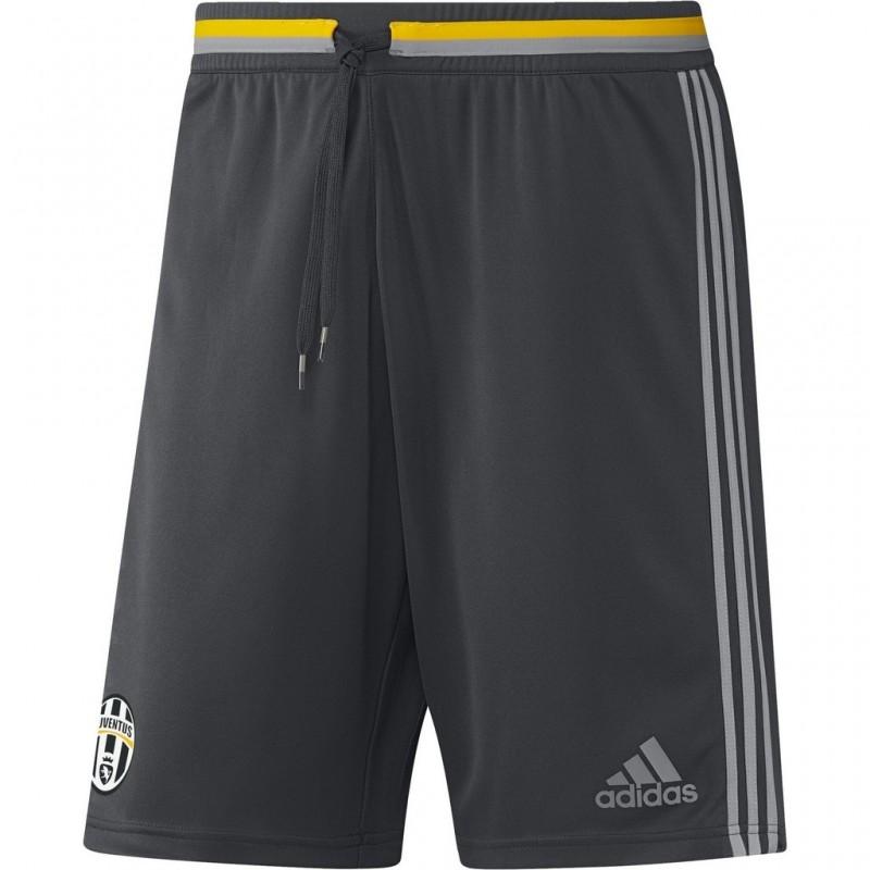 Juventus FC shorts shorts d'entraînement gris 2016/17 Adidas