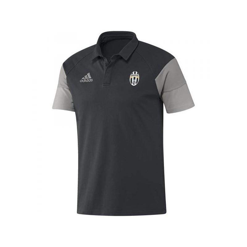 Juventus Fc polo rappresentanza grigia 2016/17 Adidas