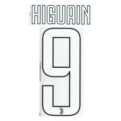 Official Name Number 9 Higuain nome e numero maglia home third 2017/18