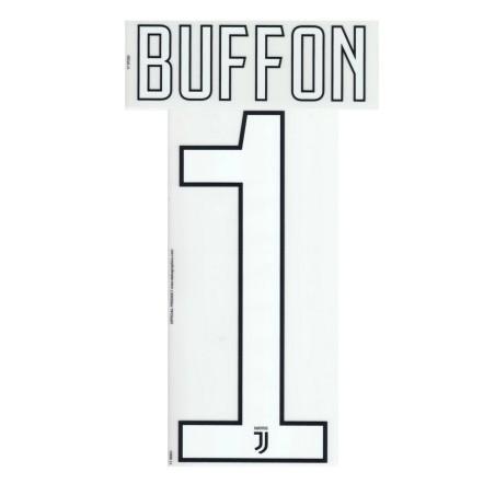 Juventus 1 Buffon nome e numero maglia portiere 2017/18