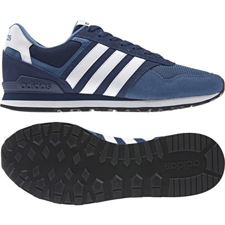 Adidas chaussures de 10K bleu Baskets Neo