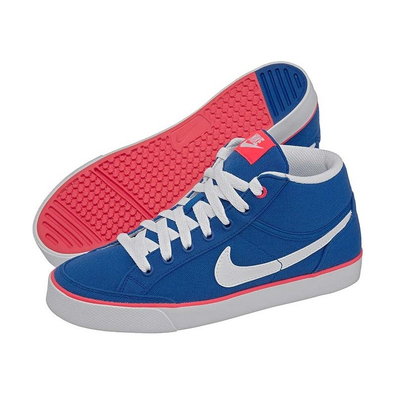Nike Scarpe Bambino Mid Capri 3 Blu Junior wZiPOXukT