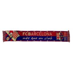 """Écharpe de barcelone """"mes que un club"""""""