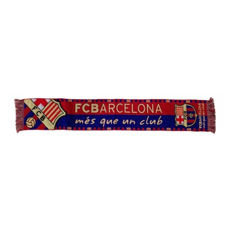 "Barcelona scarf ""mes que club"""