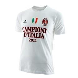 """Milan t-shirt Champions d'Italie """"est tous dans le"""" bébé Adidas"""