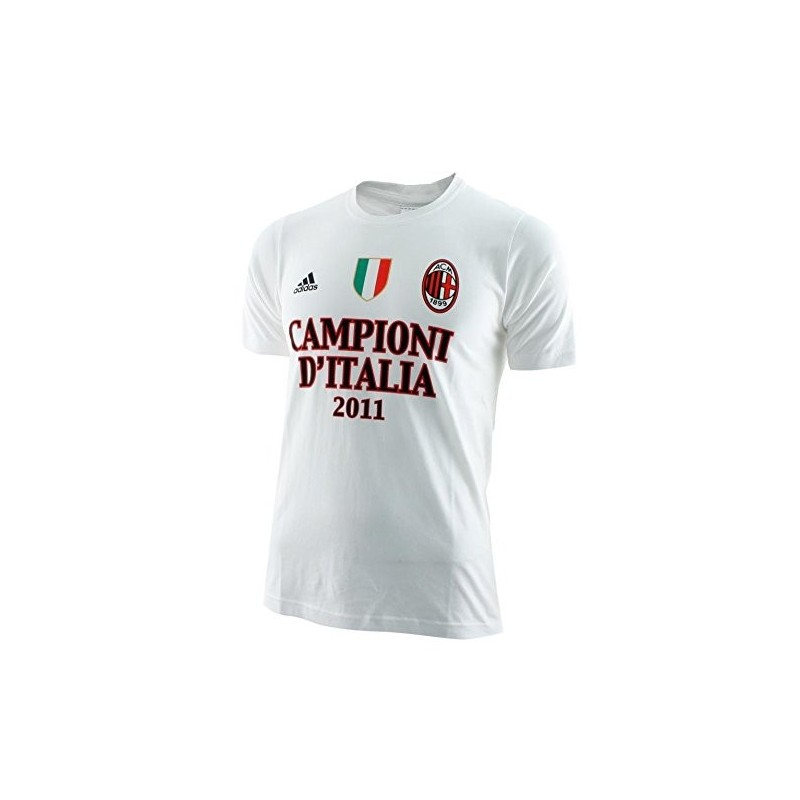 "Milan t-shirt Champions of Italy ""is all in"" baby Adidas"