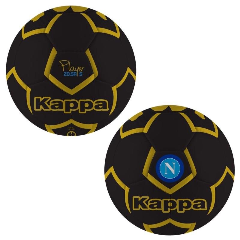 Le SSC Napoli en ballon de l'équipe Kappa noir