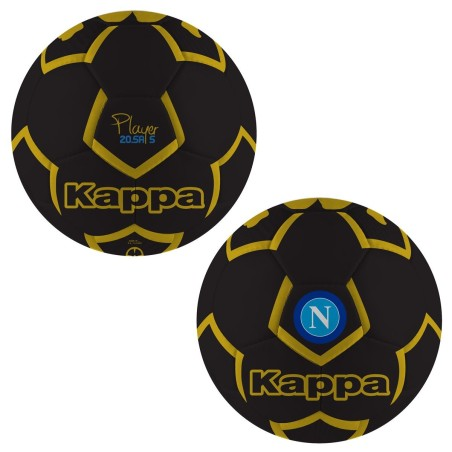 SSC Napoli pallone team nero Kappa