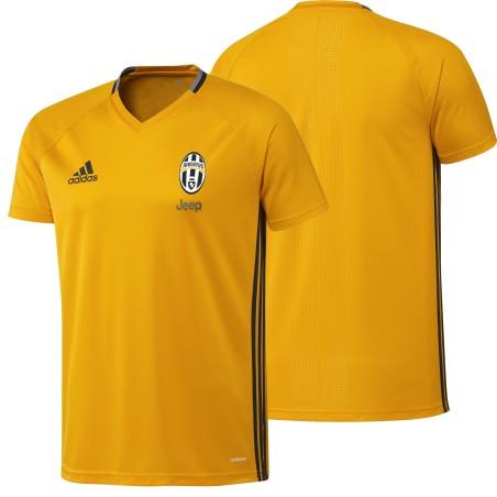 Juventus Fc maillot d'entraînement de jaune 2016/17 Adidas