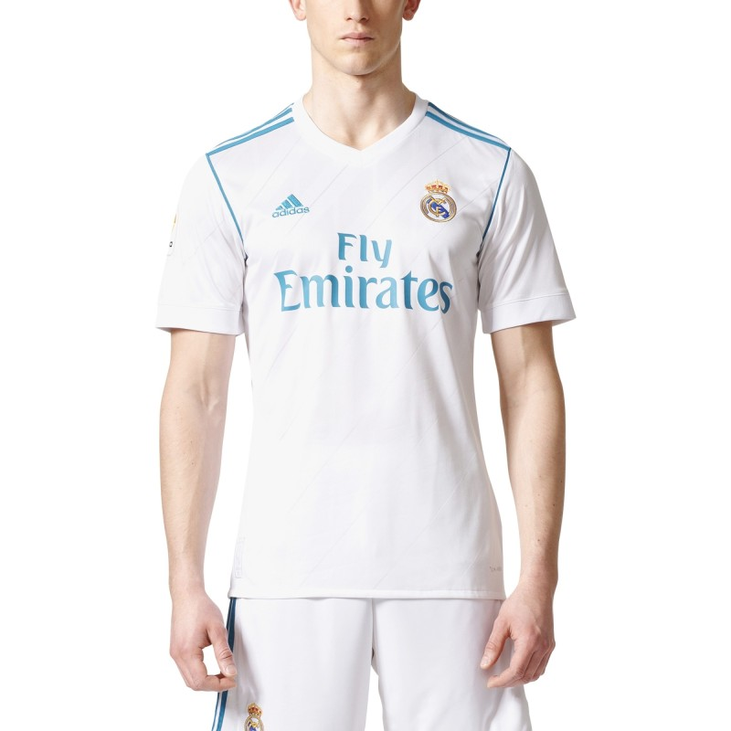 Real Madrid home shirt 2017/18 Adidas