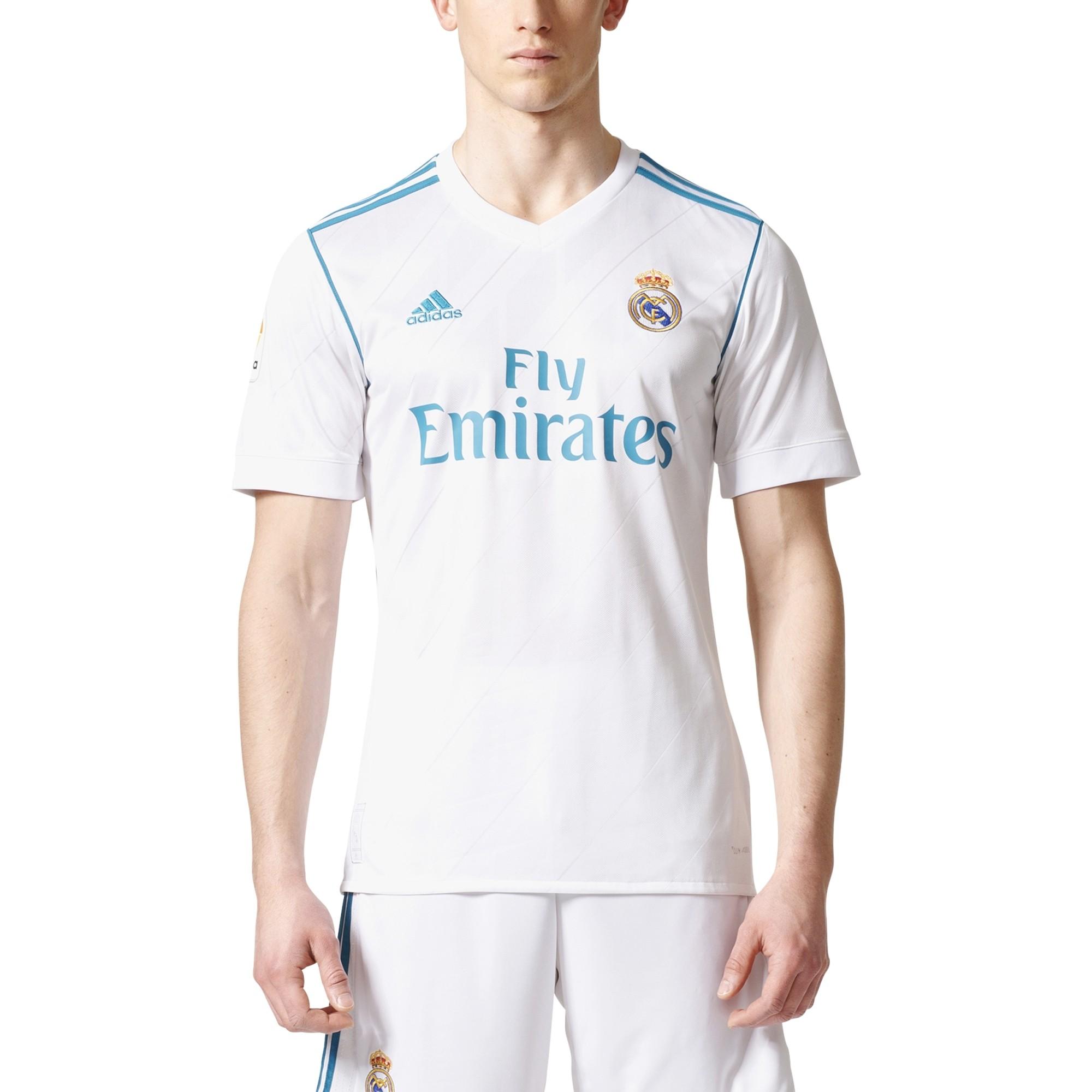 Real Madrid home shirt Blancos 2017/18 Adidas