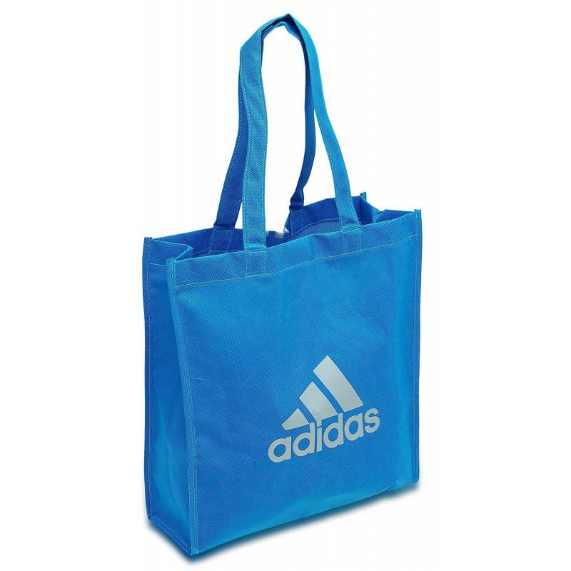 sac shopper de tr fle bleu adidas. Black Bedroom Furniture Sets. Home Design Ideas