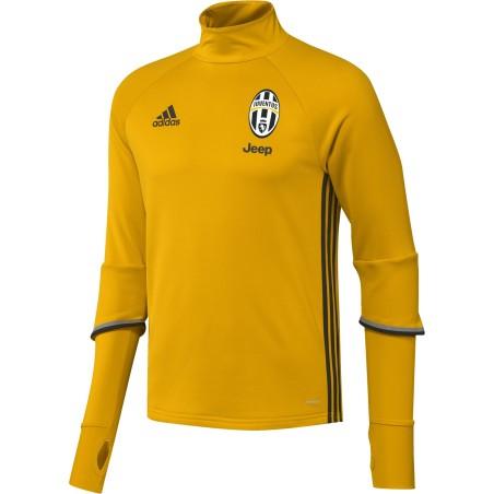 La Juventus sudadera de entrenamiento Amarillo 2016/17 Adidas