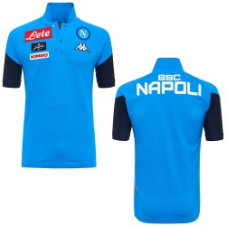 SSC Napoli polo Angat azzurra 2017/18 Kappa