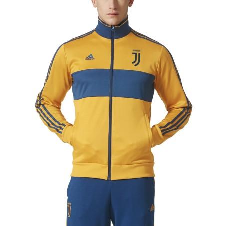 Juventus turin sweatshirt Track Top-3-Stripes-gelb 2017/18 Adidas