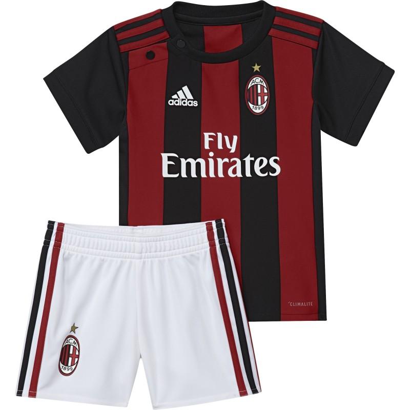 L'AC Milan, le bébé à la maison kit 2017/18 Adidas