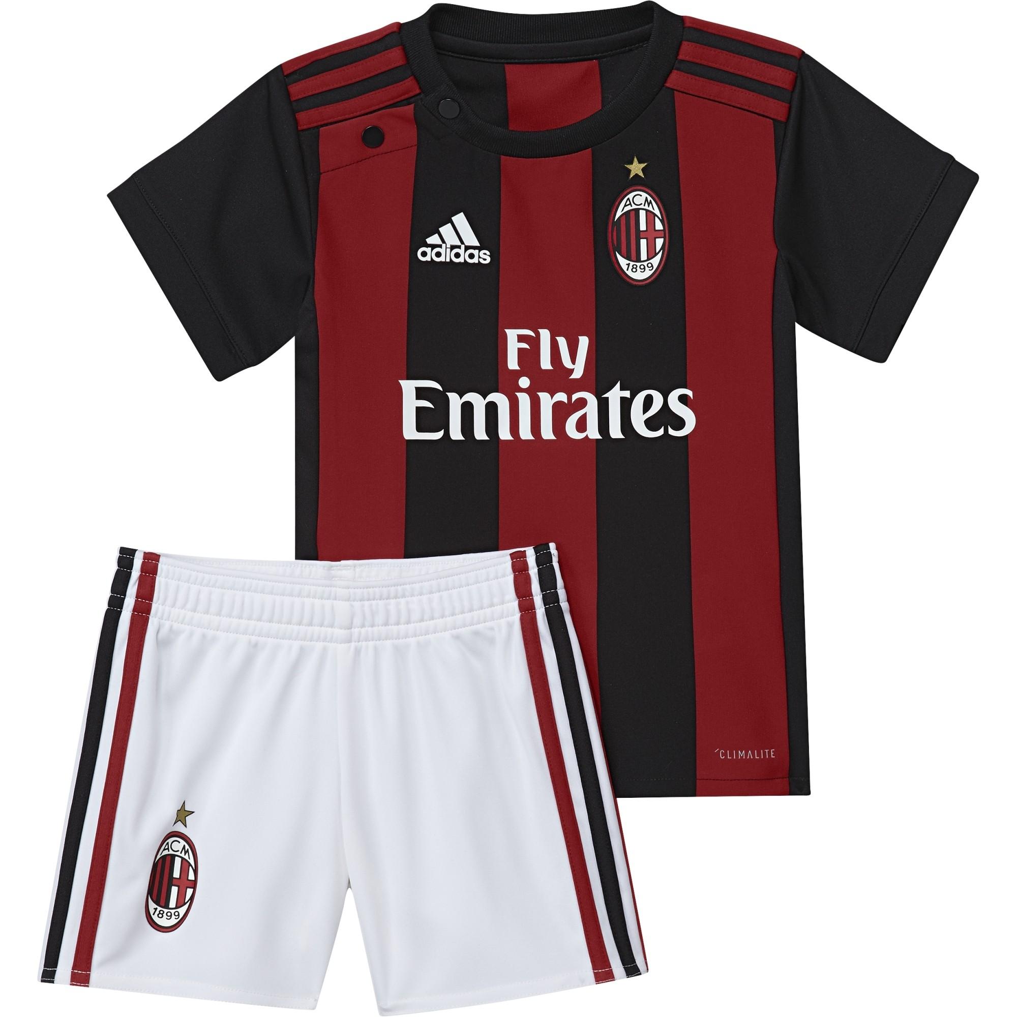 Ac Milan Baby Home Baby Kit 2017 18 Adidas
