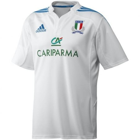 SAPIN Italie de rugby en jersey blanc Adidas