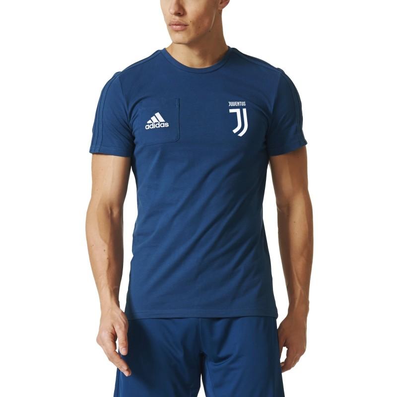 Juventus t-shirt reste bleu 2017/18 Adidas