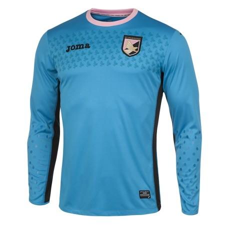 Palerme, maillot de gardien de but bleu 2015/16 Joma