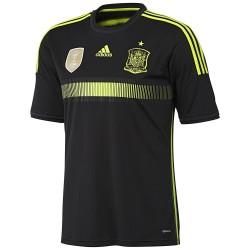Spagna maglia trasferta nera 2014/16 Adidas