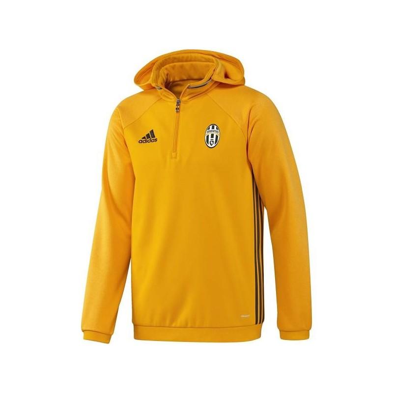 Juventus felpa pile allenamento gialla 2016/17 Adidas